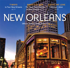 Complete redesign of New Orleans Official Visitors Guide that included hiring a photographer, selecting colors and fonts, and layout of the entire book.  The client wanted a lifestyle magazine feel to the guide and something that readers would turn to when exploring the city.