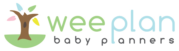 Logo design for Wee Plan Baby Planners in Denver.  Website and marketing materials are currently in production.