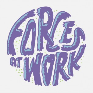 Design for Forces at Work shirts and stickers.