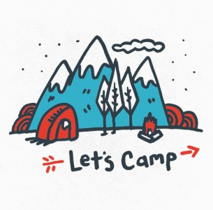Let's Camp is the newest addition to the Zio Kids line of shirts.